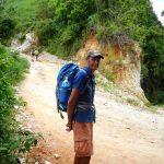 Der Wanders-Mann ohne Stock