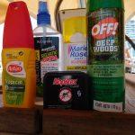 Diverse Mücken-Mittel zur Wahl, es soll nicht alles gut helfen