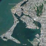 Cartagena von oben - eine uneinnehmbare Bucht