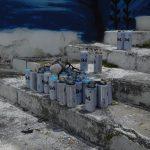 Farbdosen - ein Verkaufsschlager in Südamerika