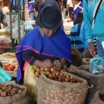Kartoffel-Verkäuferin
