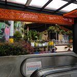 Rolltreppen für die Einheimischen