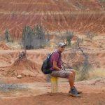 Wüsten Sitzer