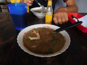 Typische Vorsuppe