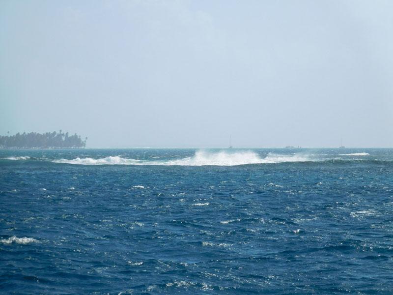 Riffe stellen sich in den Weg