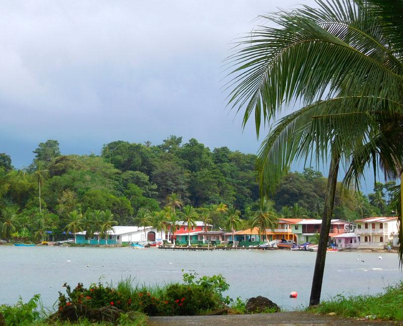 Von weitem ist Puerto Lindo total schön