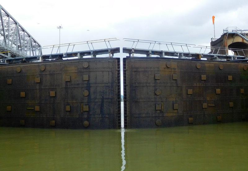 Das Tor zum Pazifik, was für Atanga noch eine lange Zeit verschlossen bleibt