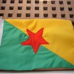 Flagge Franz. Guyana
