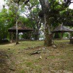Umgebaute, ehemalige Hütten der Lepra-Kranken