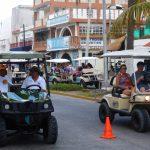 Hauptverkehrsmittel - Golf Cart
