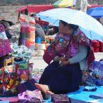 Indiginas auf dem Markt