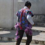 auch die Männer müssen lila tragen