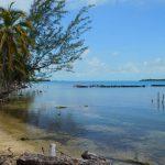 Der Strand von Robinson Point Cay