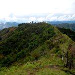 Letzte nördliche Ausläufer der Anden
