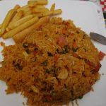 Corrinte Variante - nur Reis mit Pommes, jetzt ganz ohne Frisches