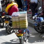 ier-Transport auf kolumbianisch