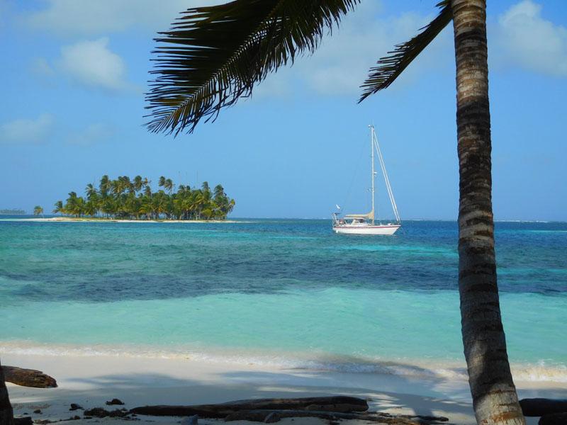 Atanga in den Coco Bandero Cays