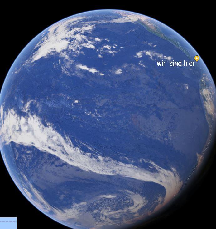 Nix als Wasser - der Pazifik