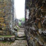 Überreste der Kirche