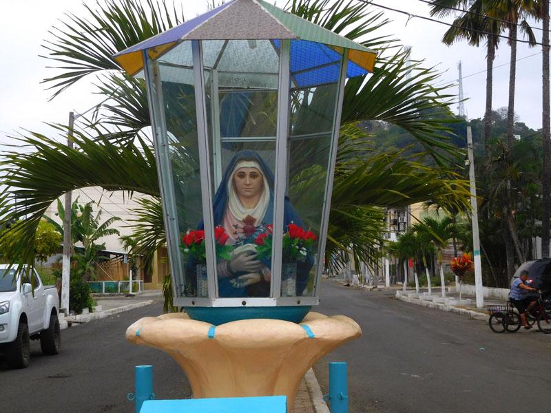 Nur ungefähr 70% der Einwohner Ecuadors sind katholisch