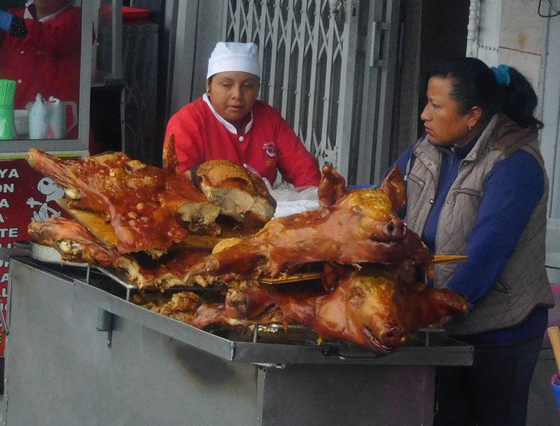 Cerdo horneado