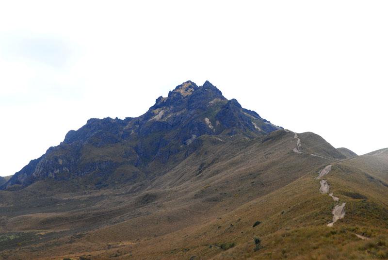 Der Gipfel vom Pichincha