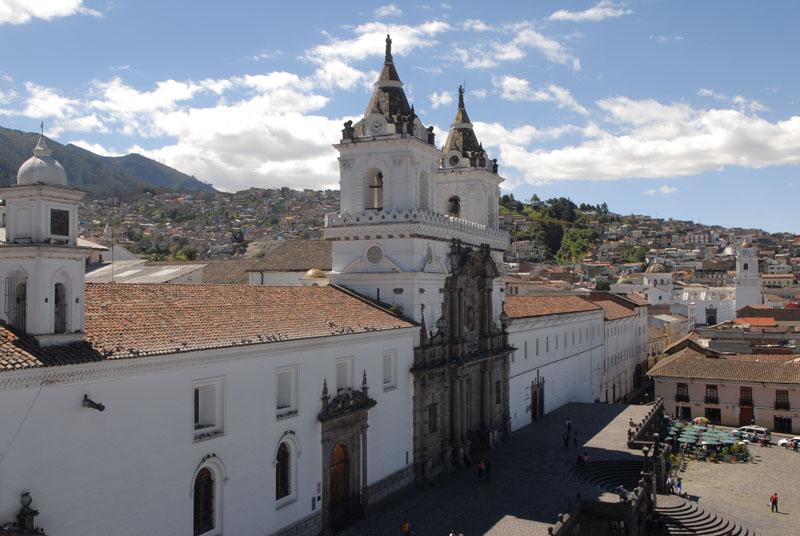Iglesia San Francisco - erste Kirche Quitos gegründet 1536