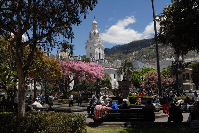 Major Plaza - Tummelplatz für Touristen und Einheimische