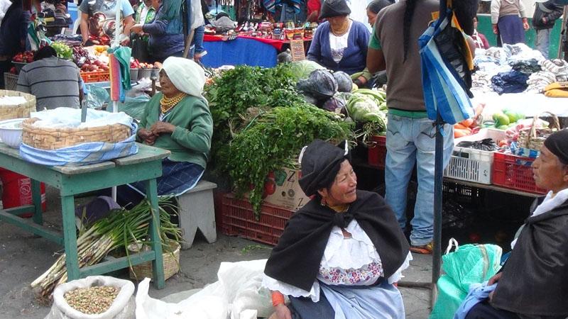 Wunderbarer Gemüse-Markt