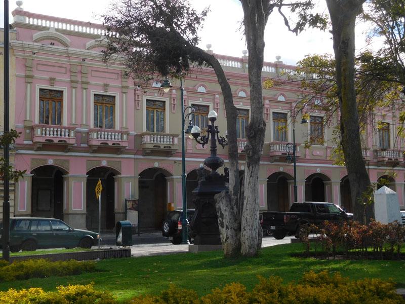 Riobamba hat schöne Ecken
