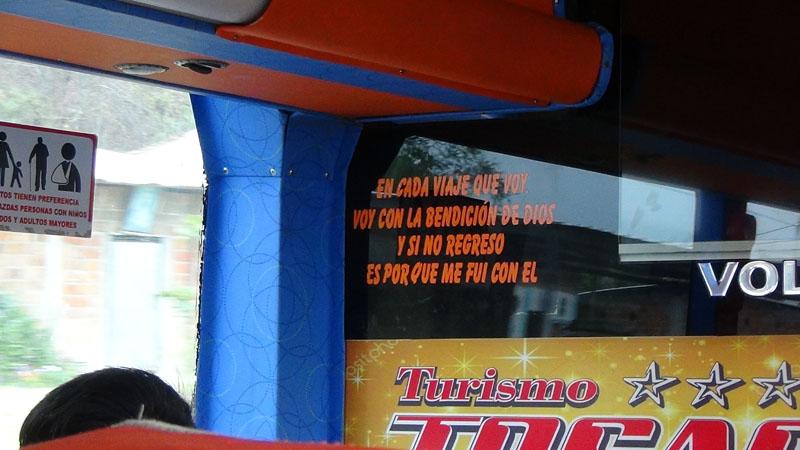 Die Busfahrer fahren besser als dieser Spruch vermuten lässt