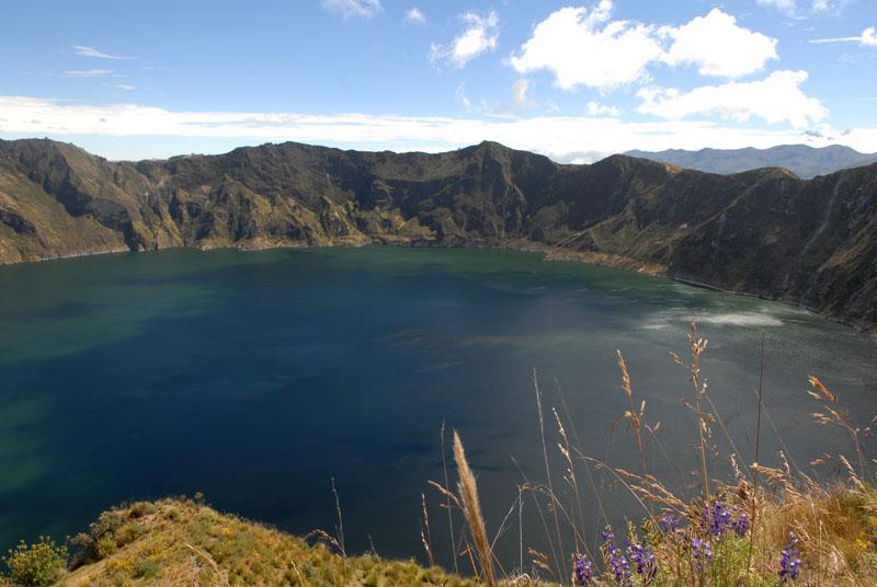 Quilotoa-Lagune