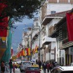 Cuenca zeigt Flagge für den Unabhängigkeitstag nächste Woche