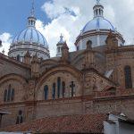 Die Kuppeln der neuen Kathedrale in Cuenca