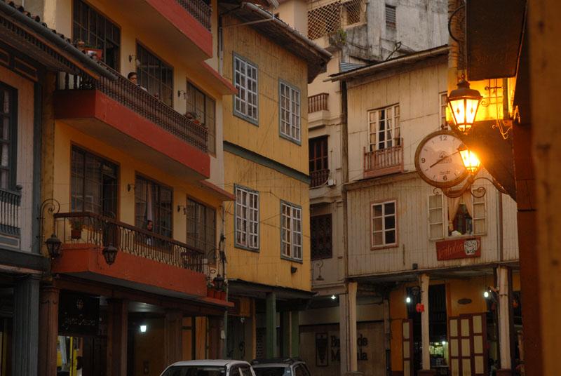 Zaruma Altstadt