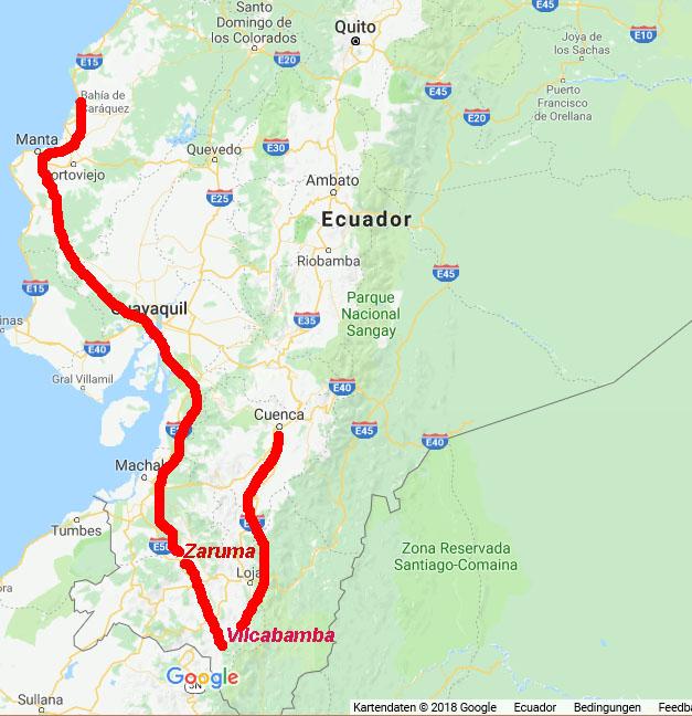 Rundreise Süd-Ecuador