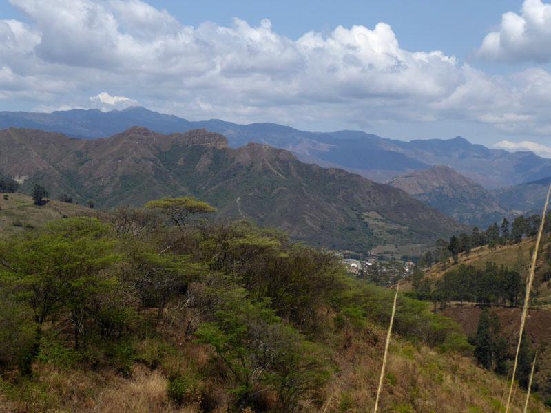 Unten rechts liegt Vilcabamba