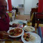 Chinesisch Essen auf ecuadorianisch