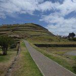 Inka Ruien in Cuenca, die zum Museum Pumapingo gehören