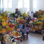 üppiger Markt