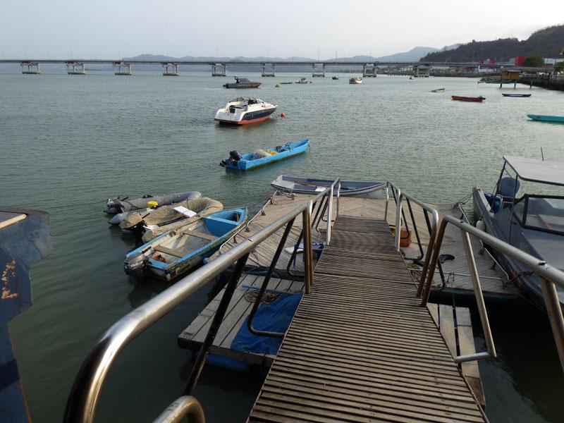 Dinghy Dock - Tidenhub 2 bis 2,5 Meter