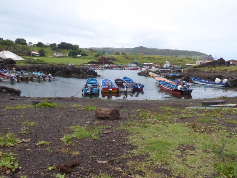 Hanga Piko - der Industriehafen der Osterinsel