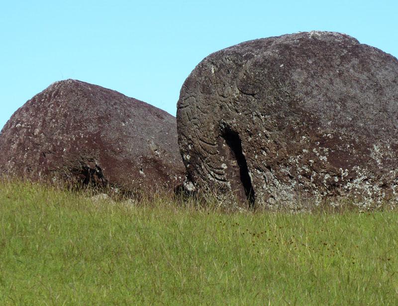 Petroglyphen in den Hüten