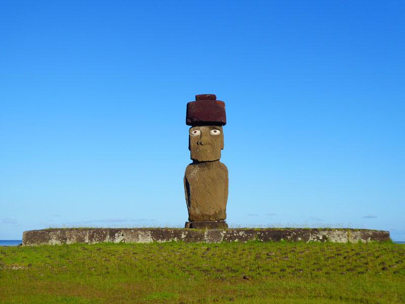 Moai komplett restauriert