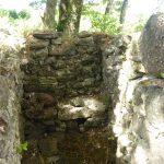 Die ehemaligen Toiletten des Klosters