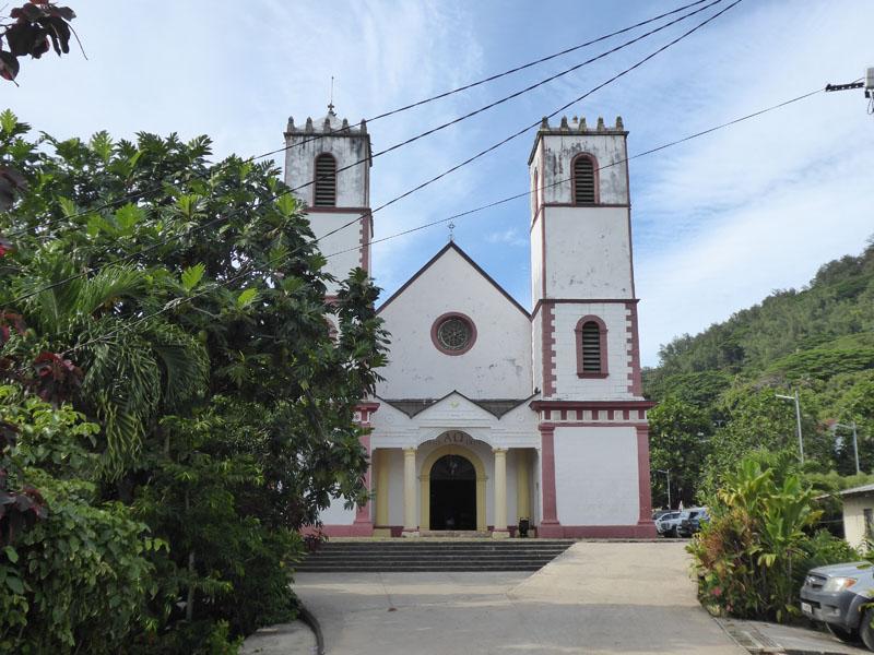 Die größte Kirche Polynesiens