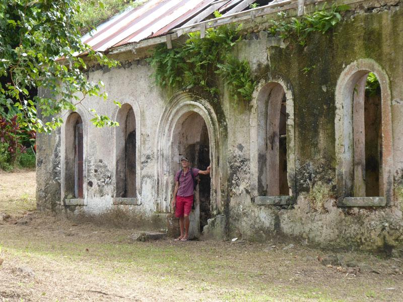 Wildromantische Überreste vom Kloster
