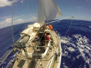 Ein Boot, zwei Menschen, 2400 Seemeilen, 24 Tage